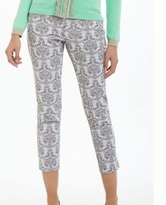 ANTHRO Cartonnoer Brocade Charlie Trousers Size: 4